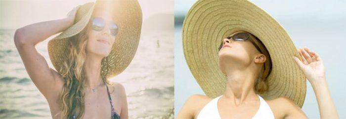 Giữ mái tóc luôn chắc khỏe, óng mượt nhờ tránh ánh nắng mặt trời.