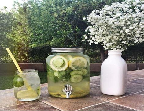 nước giảm mỡ bụng nấm lim xanh
