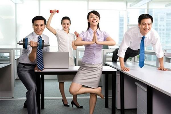 Giảm cân cho dân văn phòng bằng những bài tập đơn giản được nhiều người áp dụng.