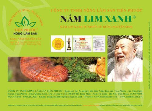Công ty TNHH Nấm Lim Xanh Việt Nam – đơn vị phân phối sản phẩm Nấm lim xanh uy tín nhất tại Việt Nam
