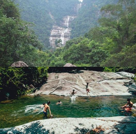 Rất dễ để đi Khe Lim, Đại Lộc - Quảng Nam, một thắng cảnh hoang sơ, tự nhiên.