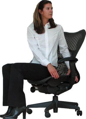Giảm cân cho dân văn phòng bằng bài tập với ghế.