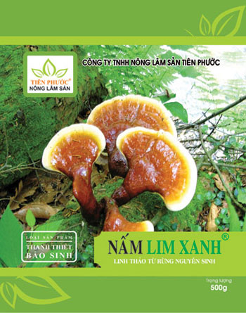 Hộp sản phẩm Nấm lim xanh gia truyền Thanh Thiết Bảo Sinh