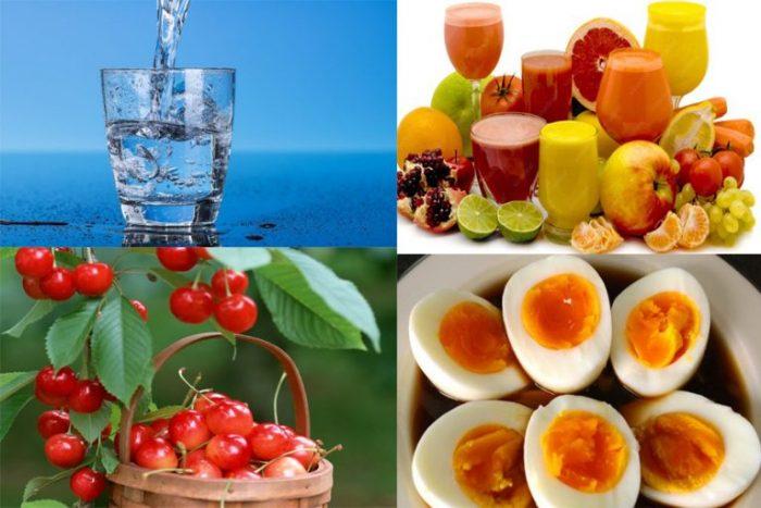 Những thực phẩm tốt cho người bệnh gout