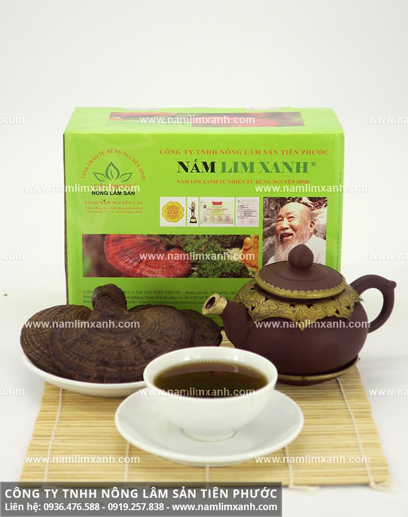 Tác dụng của nấm lim xanh tự nhiên và công dụng dược chất của nấm lim