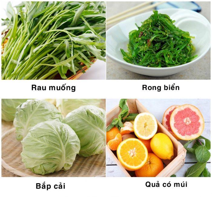 Những loại thực phẩm phòng chống ung thư gan nên có trong bữa ăn hàng ngày.