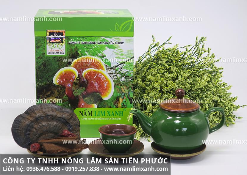 Cách nấu nước nấm lim xanh với liều lượng dùng cây nấm lim rừng