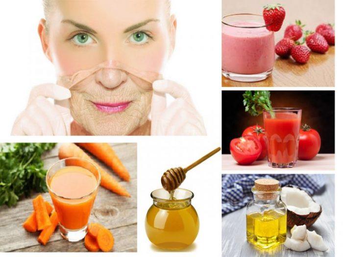Mẹo chống lão hóa da ở độ tuổi sau 30 từ nguyên liệu tự nhiên.