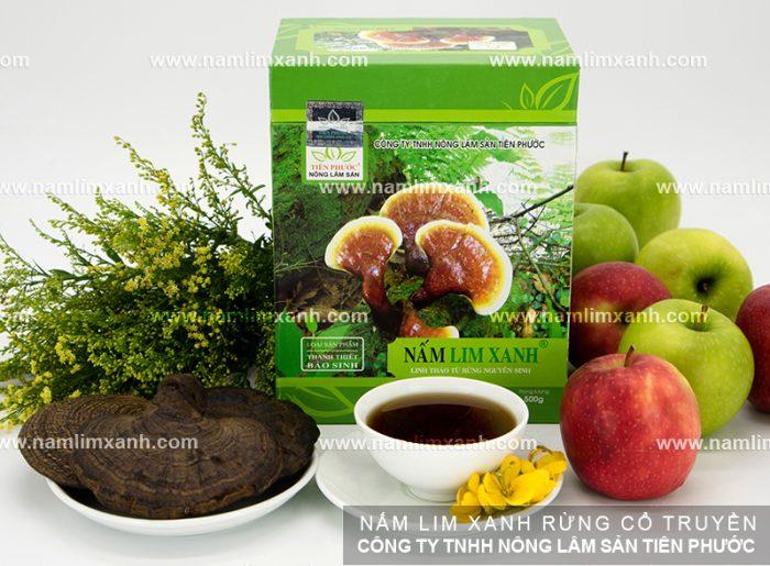 Liều dùng nấm lim xanh rừng chữa bệnh