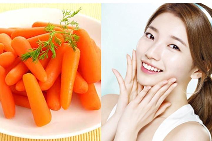 cách làm đẹp da mặt tự nhiên từ cà rốt namlimxanh.vn