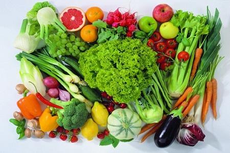 rau của sạch là thực phẩm xanh