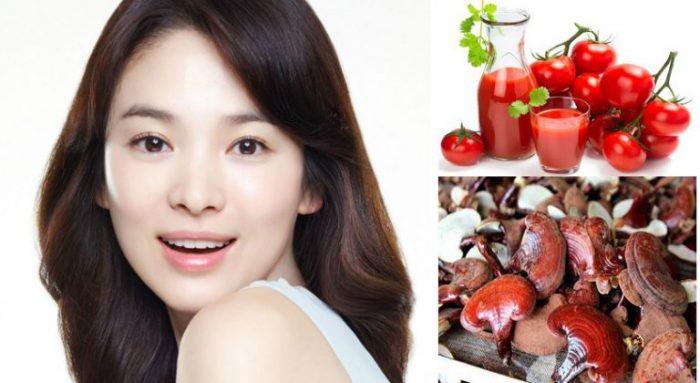 Bí quyết chăm sóc da bằng thực phẩm để có làn da đẹp, tươi trẻ như diễn viên Song Hye Kyo