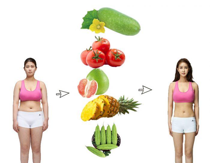Một số loại thực phẩm giảm cân toàn cho người thừa cân, béo phì.