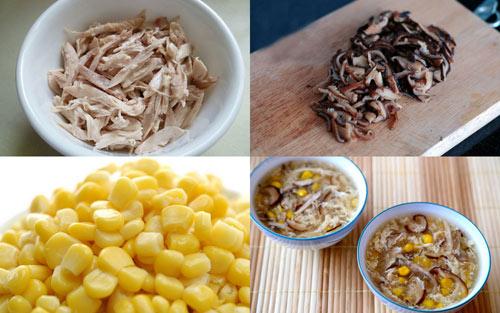 Cách nấu súp gà với nấm hương đơn giản và ngon miệng