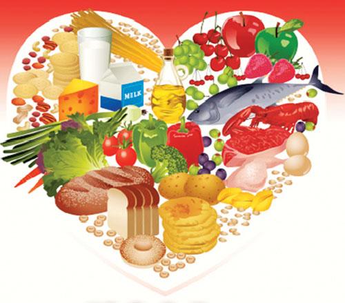 Thực phẩm tốt cho tim mạch nên bổ sung vào thực đơn dinh dưỡng