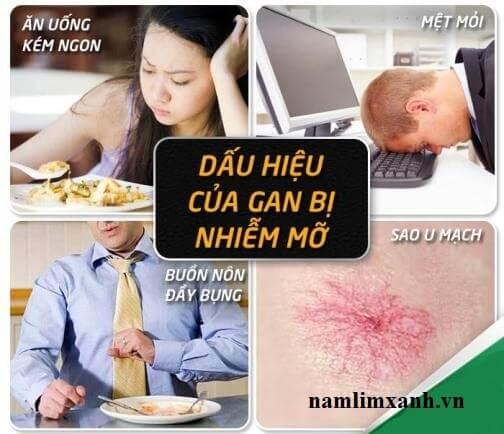 5 dấu hiệu gan nhiễm mỡ không được bỏ qua