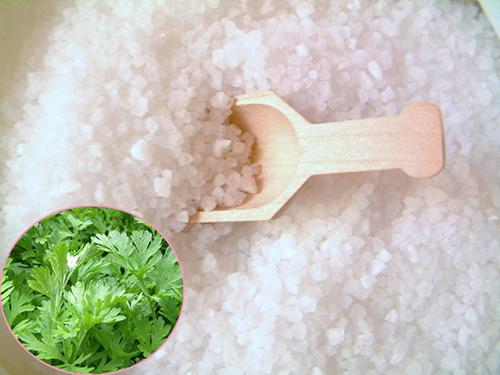 phương pháp giảm cân hiệu quả bằng muối ngải cứu