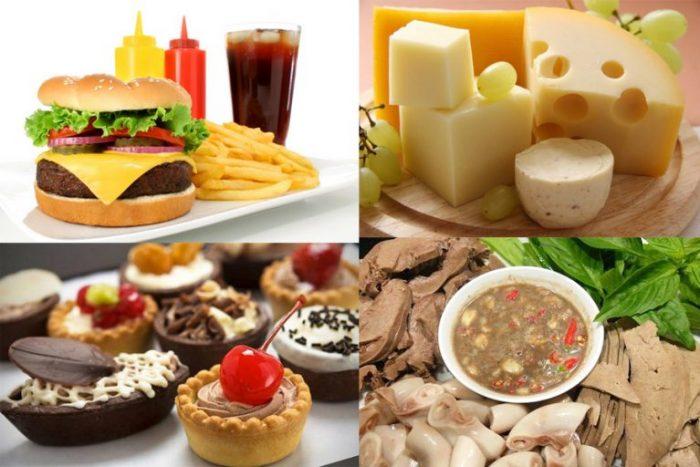 Món ăn không lành mạnh là nguyên nhân gây đột quỵ ở người trẻ