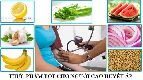 Ưu tiên thực phẩm tốt là cách giảm huyết áp cao tại nhà hiệu quả
