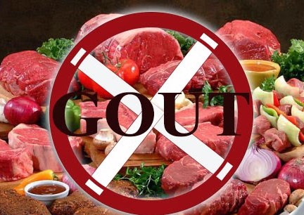 Người bị bệnh gout nên hạn chế ăn thịt đỏ, nội tạng động vật