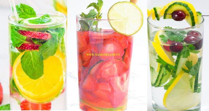 Các loại nước uống giảm cân nhanh