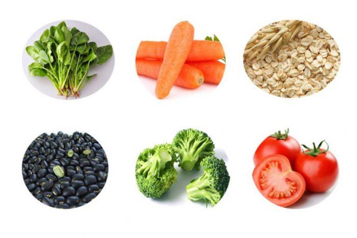 Chế độ ăn uống phòng bệnh tiểu đường phải có rau xanh, ngũ cốc, các loại hạt...