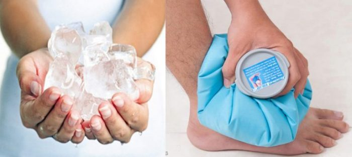 Chườm đá giúp đẩy lùi cơn đau do gout nhanh hơn