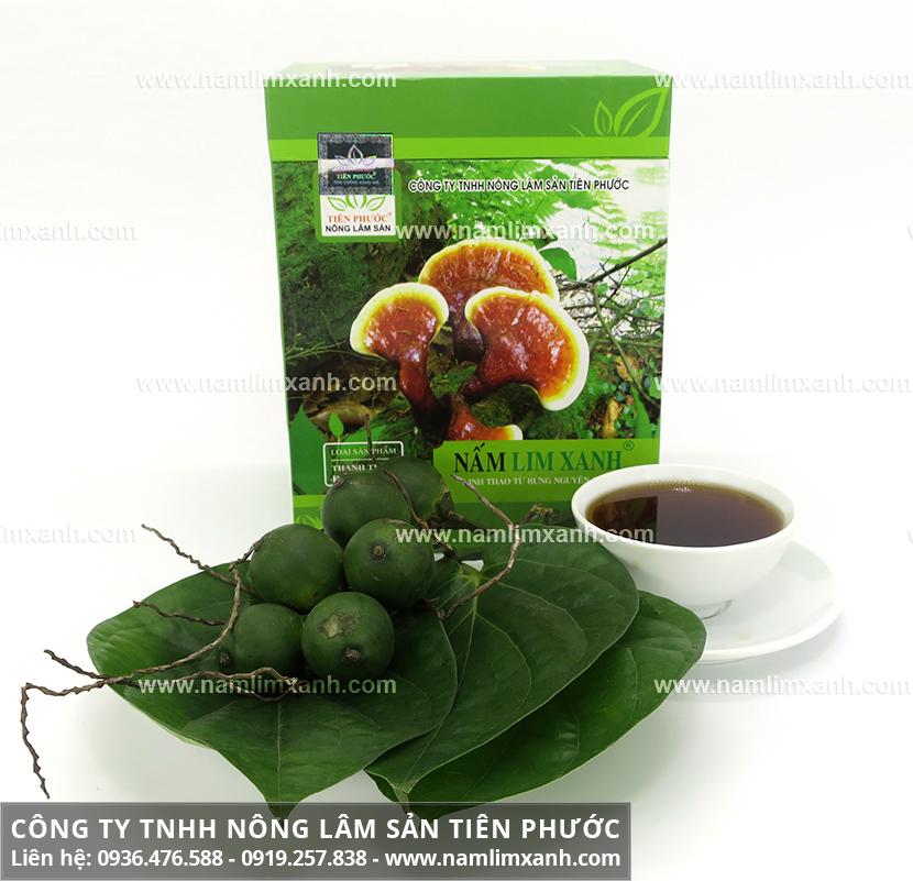 Nấm lim xanh giảm cân nhanh an toàn và cách uống nấm cây lim giảm cân