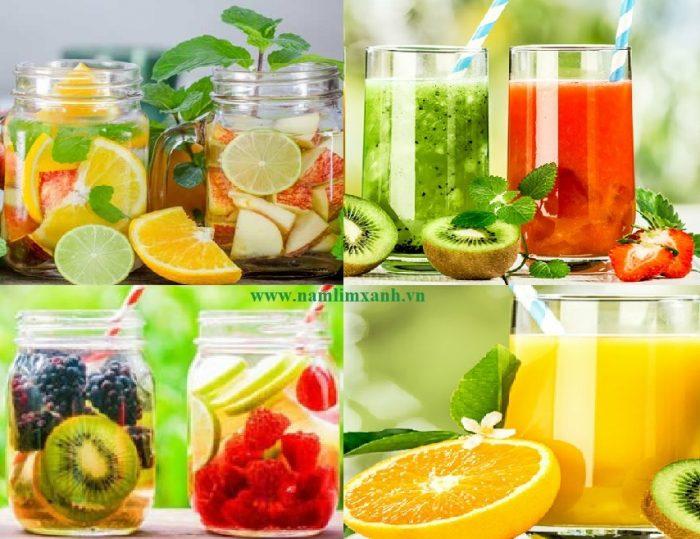 Nước uống detox giảm cân nhanh