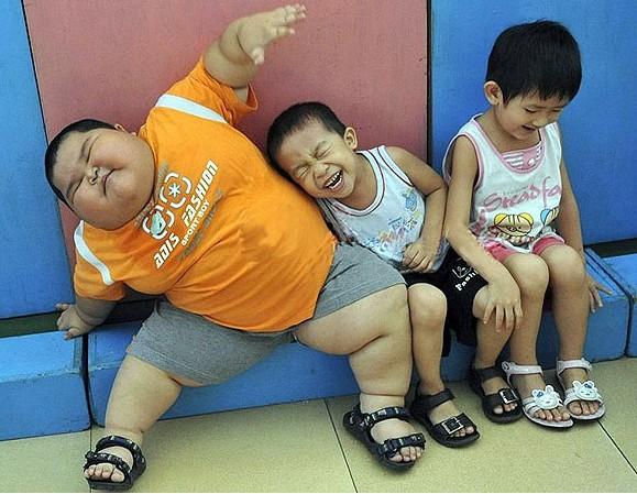 Tác hại của bệnh thừa cân béo phì ở trẻ em.