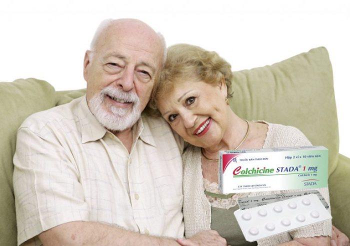 Colchicin là loại thuốc lâu đời nhất để chữa trị bệnh gout