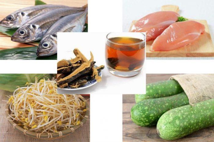 Những món ăn tốt cho người mỡ máu dùng trong bữa chính