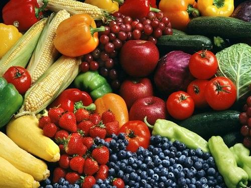 Trái cây, rau xanh – thức ăn không thể thiếu cho người ung thư gan
