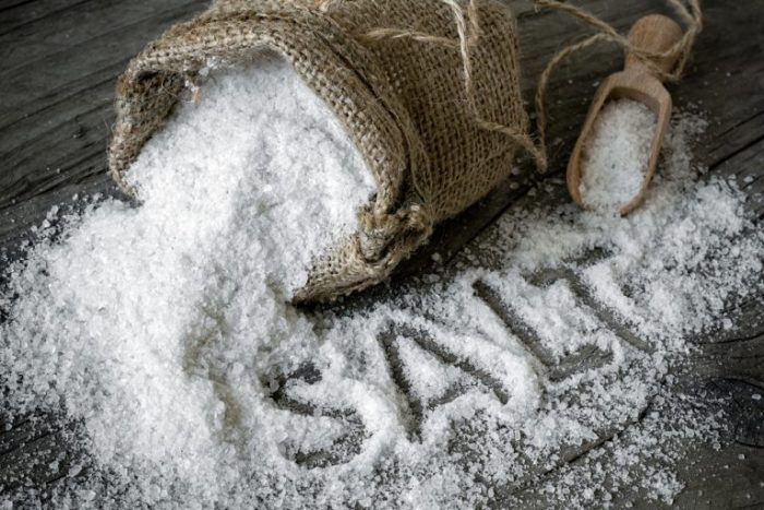 Muối ăn chứa nhiều khoáng chất vi lượng