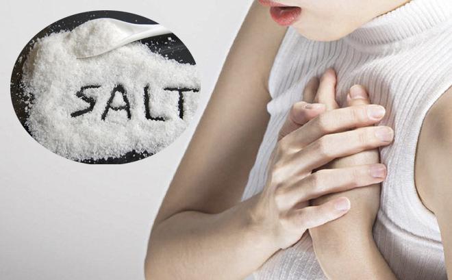 Thừa muối khiến bệnh nhân cao huyết áp có nguy cơ bị bệnh tim mạch