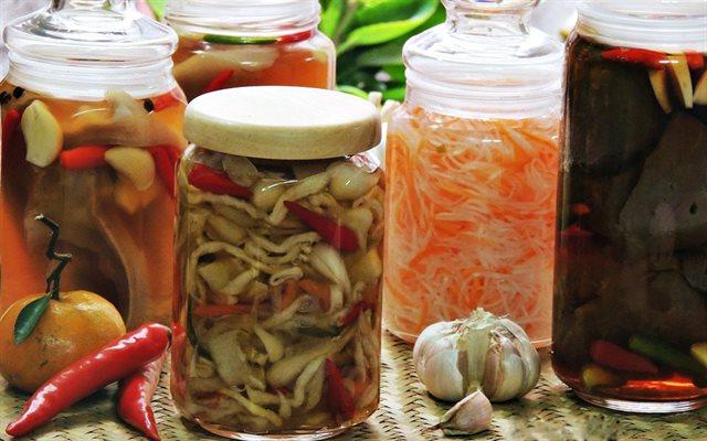 Muối ướt là cách bảo quản thực phẩm phổ biến