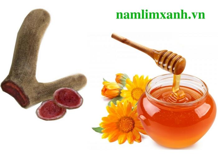 Nhung hươu ngâm mật ong có tác dụng an thần, chống lão hoá, tăng sức đề kháng