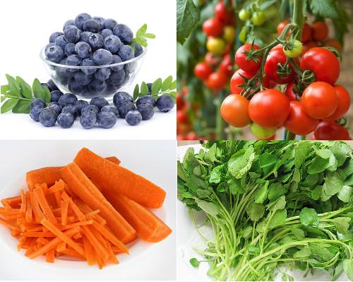 Ăn hoa quả tươi giúp phòng tránh bệnh ung thư dạ dày