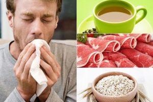Thực phẩm cần thiết khi điều trị ung thư phổi