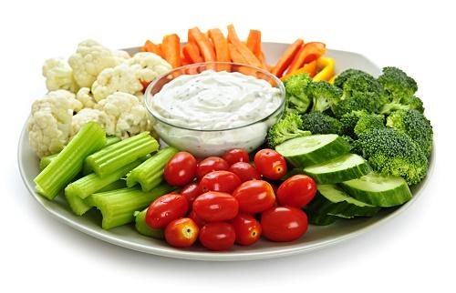 Bệnh nhân ung thư nên ăn nhiều rau củ