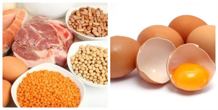 Những loại thực phẩm như trứng, sữa, thịt gà, thịt nạc...bệnh nhân nên ăn nhiều