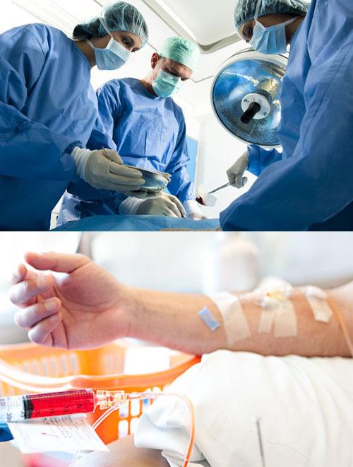 Cách điều trị ung thư hậu môn bằng phẫu thuật và hóa trị.
