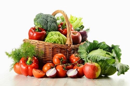 Chế độ ăn của người ung thư dạ dày nên tăng cường lượng rau củ tươi