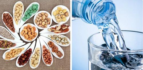 Bổ sung thêm ngũ cốc và nước lọc vào chế độ dinh dưỡng hàng ngày
