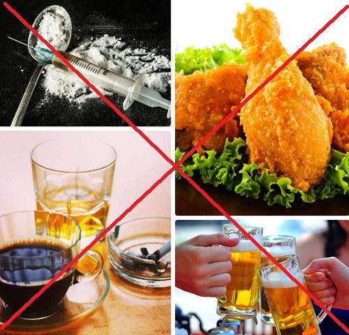 Những loại thức ăn nước uống bệnh nhân ung thư nên kiêng