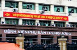 Bệnh viện Phụ sản Trung ương - 43 Tràng Thi, Hàng Bông, Hoàn Kiếm, Hà Nội