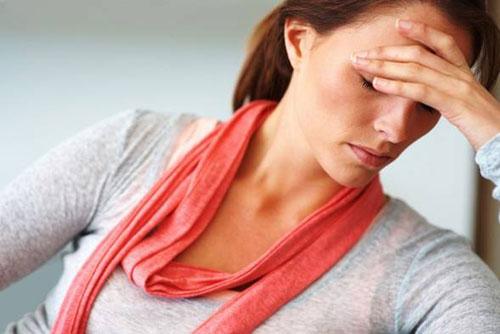 Triệu chứng của ung thư cổ tử cung là thiếu máu.