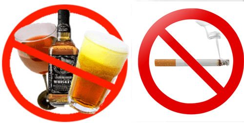 Thực đơn cho bệnh nhân ung thư máu tránh rượu bia, thuốc lá