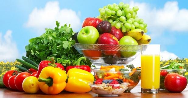 Thực đơn cho người bệnh ung thư nên có nhiều rau củ quả trái cây sạch