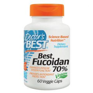 Thuốc hỗ trợ điều trị ung thư Doctor's Best Fucoidan 70.